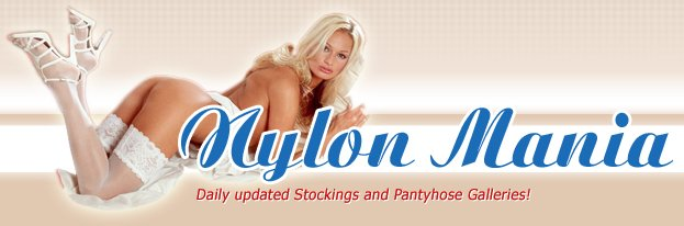 Nylon Mania - Hottest Nylon and Stocking galleries!